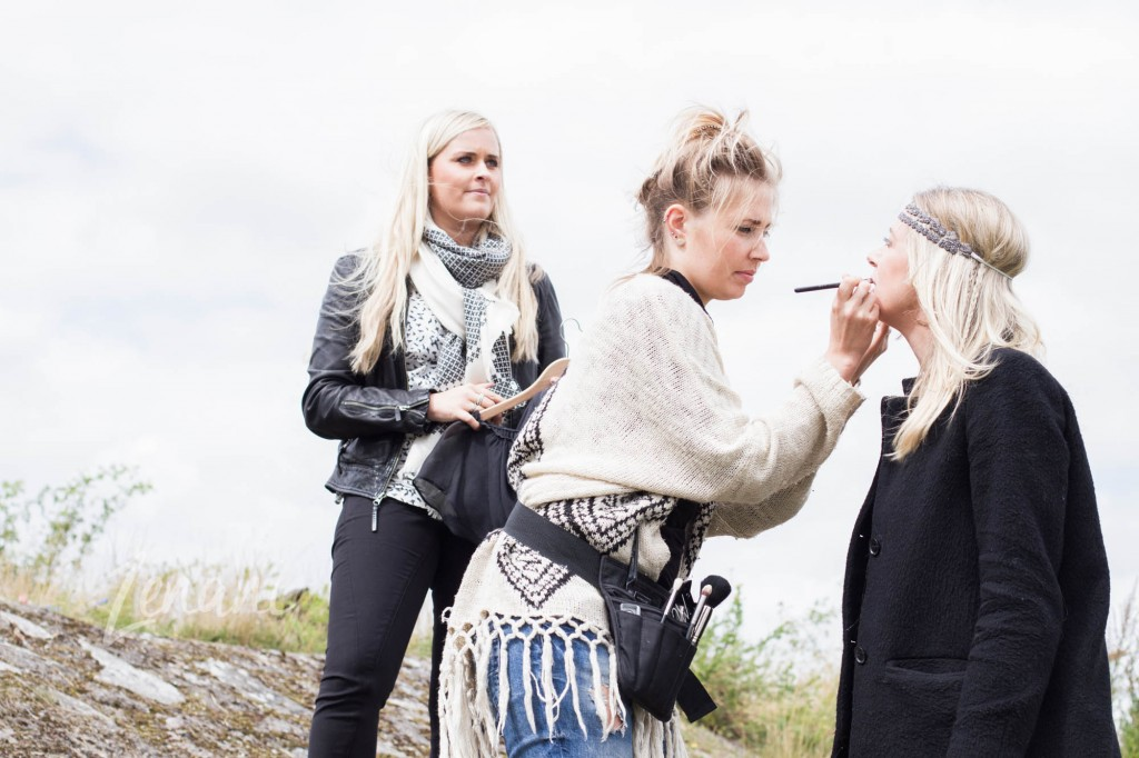 photoshoot med styling, strand photoshoot, mai copenhagen smykker, zenani, makeup artist Mickaela Berman
