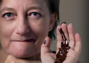 Chokolade-Hexen's Kunstportræt
