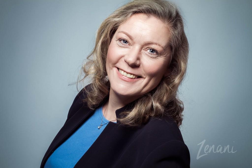 Portræt af Bibbi Bryld Rasmussen