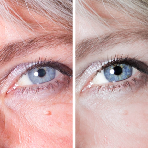 billedbehandling, retouchering, retouch eyes, øjne, Zenani