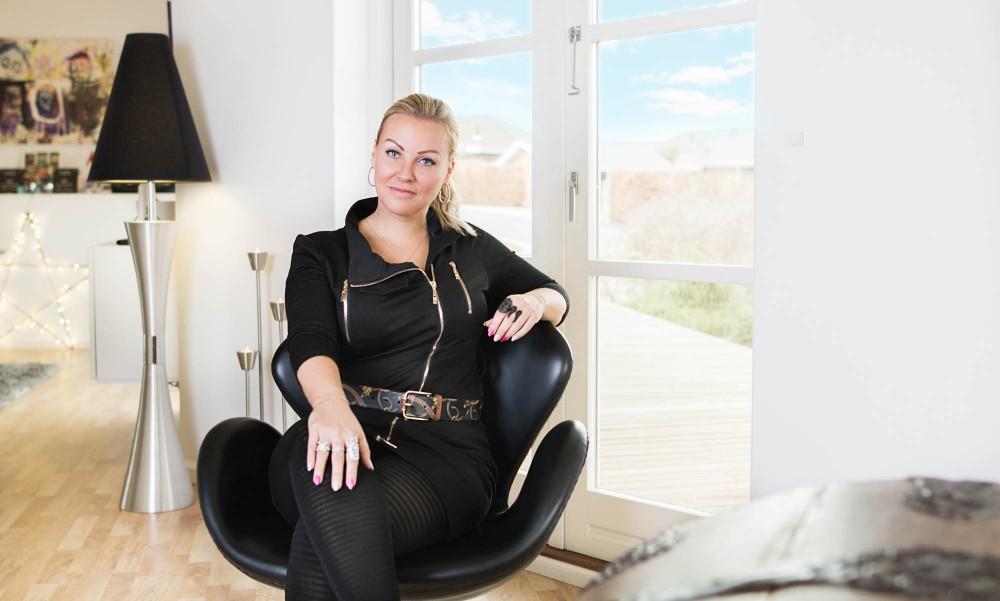 portræt af Rikke Louise Andersen, My passion, passionsportræt, Zenani