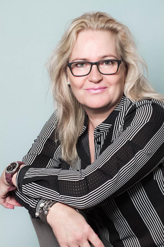 portræt af Susanne Christensen, Zenani
