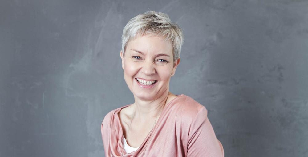 Portræt af Lisbeth Olesen, af Zenani