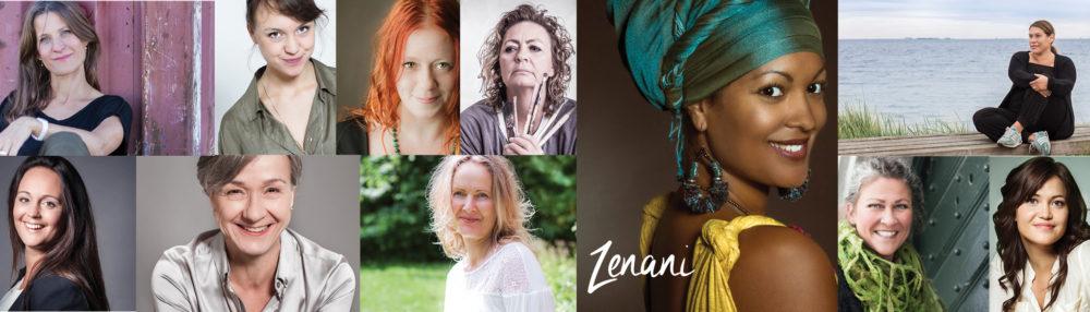 kvinde billede, Zenani
